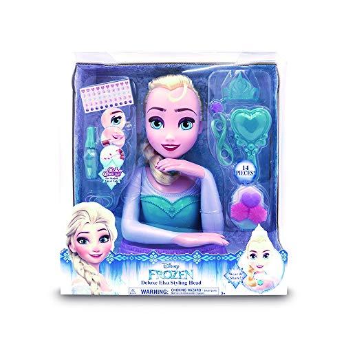 Disney - Elsa Busto Deluxe (Giochi Preziosi FRN58000) , color/modelo surtido