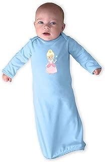 Oz Glinda Long Sleeve Boys-Girls Cotton Newborn Sleeping Gown One Piece