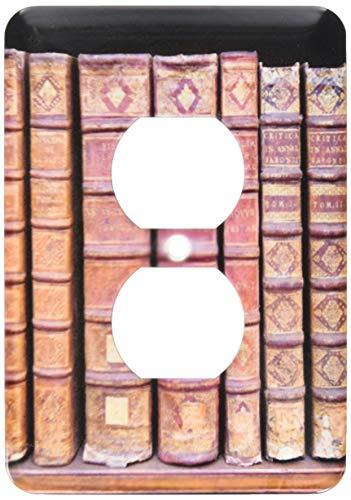 Plaque murale recto-verso simple, prise murale, France, Corse, Livres, Bibliothèque municipale Ajaccio Eu09 Ssm0020 Scott T Smith 2 Prise de courant