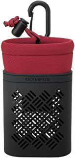 OLYMPUS デジタルカメラ STYLUS Tough用 ソフトカメラケース レッド CSCH-121RED