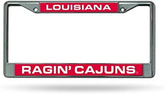 NCAA Laser Chrome Plate Frame