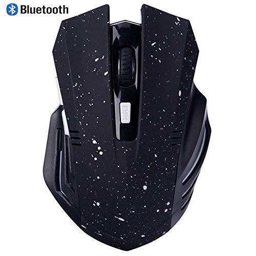 Bluetooth Mouse, EONANT 3.0 Mouse Portatile con Mouse USB Wireless Ricaricabile Silenzioso e Silenzioso Clicca per Notebook, PC, Laptop, Computer, Tablet Windows/Android, Macbook (White Snow)