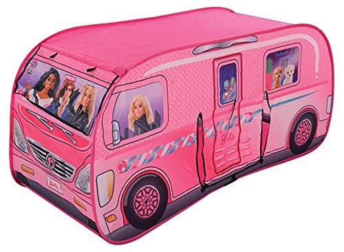 Barbie M009728 Pop-Up - Tienda de campaña para Autocaravana, Multicolor