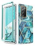 i-Blason Funda Galaxy Note 20 [Cosmo] 360 Grados Carcasa Completa Protector para Samsung Galaxy Note20 - Azul