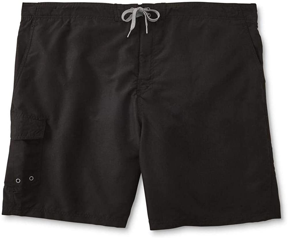 Route 66 Men's Big and Tall Swim Boardshorts