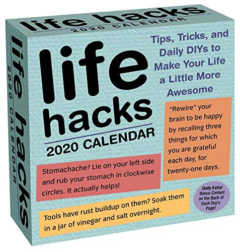 Life Hacks Calendar