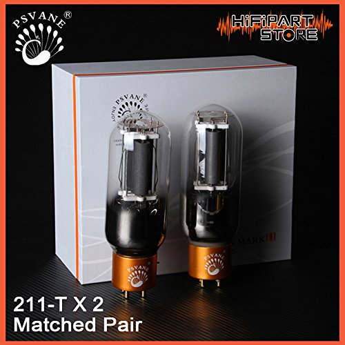Learn More About 2PCS Psvane Treasure 211-T Mark II Vacuum Tube Matched Pair Premium Grade