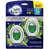 ファブリーズ 消臭芳香剤+抗菌 トイレ用 クリスプ・ガーデン・リーフ 6mL×2個