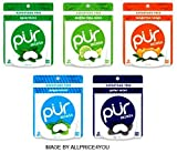 Pur Mints 5 Flavor Variety Pack - Tangerine Tango, Mojito Lime Mint, Polar Mint, Peppermint &...