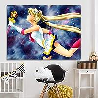 ウォールアート日本アニメキャラクター絵画写真家の装飾(60x90cm)フレームなし
