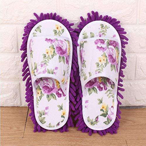 BWYFGRT Calcetines de Mujer con trapeador de Polvo Calcetines de Mujer con Mascotas Preciosas Calcetines de trapeador de Polvo Calcetines de casa de Microfibra Zapatillas de Dormitorio.
