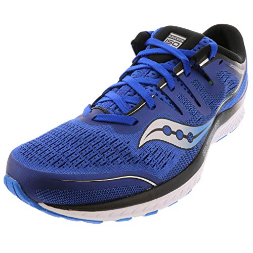 Saucony Men's Guide ISO 2 Running Shoe, Blue, 10.5 M US