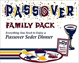 Passover Family Pack: Everything You Need to Enjoy a Passover Seder Dinner (Boxed Set: 2 Haggadahs, Preparation Guide, Music & Blessings Cassette, Seder Plate, Kiddush Cup, and Passover Curriculum)