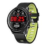 Padgene Smartwatch Reloj Inteligente IP68 Impermeable Bluetooth SmartWatch con Múltiples Modos de Deportes, Fitness Tracker, Monitor de Dormir, Notificación de Llamada y Mensaje para Android e iOS