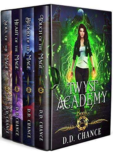 Twyst Academy Boxed Set (Boston Magic Academies Book 1) (English Edition)