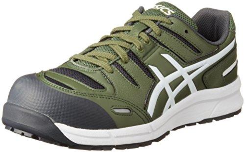 [アシックス] 安全靴 作業靴 ウィンジョブ CP103 チャイブグリーン/ホワイト 30 cm 3E