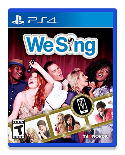 We Sing (PS4) - PlayStation 4 Solus Edition