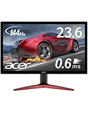 Acer ゲーミングモニター KG241QAbiip 23.6インチ 144hz 0.6ms TN FPS向き フルHD 非光沢 フレームレス