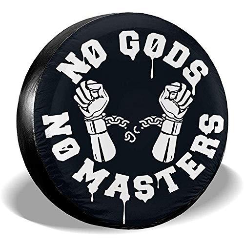 LYMT No Gods No Masters reservebandjes afdekking voor RV SUV aanhanger accessoires voor vrachtwagenaanhangers
