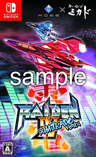 雷電IV×MIKADO remix - Switch (【Amazon.co.jp限定特典】オリジナル特典企画中 同梱)