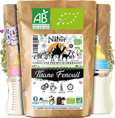 Nabür - Graine de Fenouil Bio 250 gr ⭐ Tisane Allaitement Fenouil | Cuisine, Lactation, Digestion, Transit