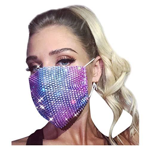 SHUANGA Face Cover Multifunktionstuch Motorrad Winddicht Atmungsaktiv Mundschutz Halstuch Schön Atmungsaktiv Sommerschal Augenschutz mit 3 austauschbaren Filter