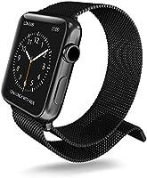 X-Doria 450447 pasek metalowy do zegarka Apple Watch 38 mm czarny