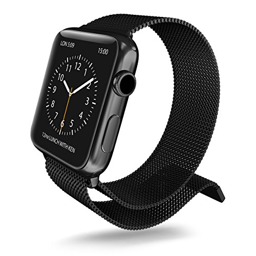 X-Doria 450447 - Correa metálica para Apple Watch (38 mm) C