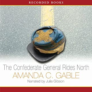 The Confederate General Rides North audiobook cover art