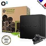 O³ Naturseife aus Bambuskohle // 100% Hergestellt in Frankreich // Natürliche Schwarze Seife //...