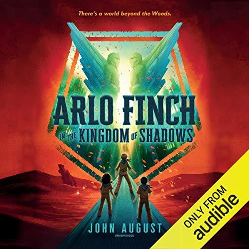 Page de couverture de Arlo Finch in the Kingdom of Shadows