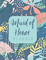 Maid of Honor Planner: Wedding Logbook for Bridesmaid - Calendar and Organizer for Important Dates and Appointments - Wedding Planner