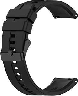 Black Silicon Strap 22mm Black Buckle - Same GT2 design - Suitable for any watch with 22mm Strap width watchband 272561694...