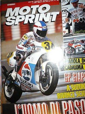 Moto Sprint N.13 '89:Malaguti Fifty RV, Gilera 125 R1S,Yamaha TT 350 FF08