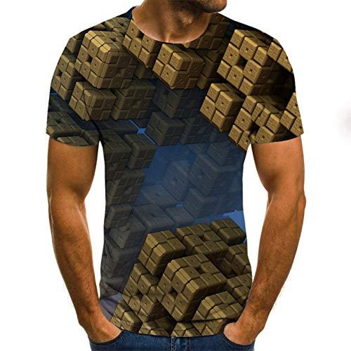 SSBZYES Camisetas para Hombre Camisetas De Talla Grande para Hombre Camisetas De Manga Corta para Hombre Camiseta Estampada con Personalidad para Hombre Jerseys Camisetas De Gran Tamaño Camisetas