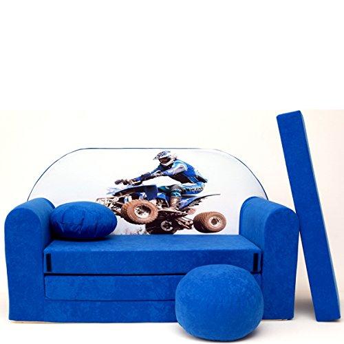 C26 + Une Enfant Enfants Bébés Mini Canapé Canapé lit Pouf Lot de 3 en 1 d'oreillers en Mousse