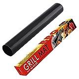 MooHome tappetini da BBQ Griglia Tappetini antiaderenti per Barbecue, Grill Mat - Set di 3-40cm *...