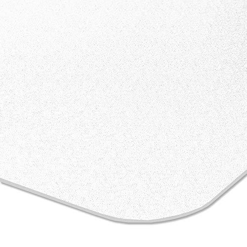 etm® Bodenschutzmatte transparent - 100x120 cm | TÜV | für Laminat, Parkett, Fliesen und Hartböden