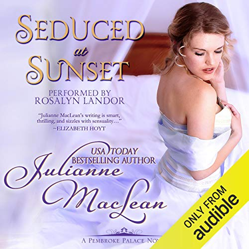 Seduced at Sunset audiobook cover art