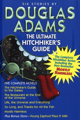 The Ultimate Hitchhiker's Guide (Band 1-5 plus Bonus, englisch)