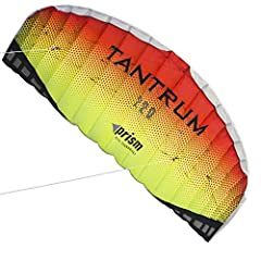Quench your thirst for adrenaline with a hard-pulling, two-line speed demon that'll pull you down the beach when the wind comes up Challenge yourself with blistering speed and pull in a blow. Makes a great trainer for kiteboarding and traction kiting...