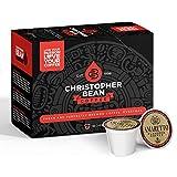 Amaretto Single Coffee Cup, (Regular) 100% Recyclable Single Serve Flavored K-Cup, 100% Arabica, No Sugar, No Fats, Non-GMO, 18 Cups of Regular Coffee Per Box – Christopher Bean