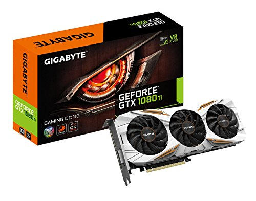 GIGABYTE GeForce GTX 1080 Ti Gaming OC 11GB Graphic Cards...