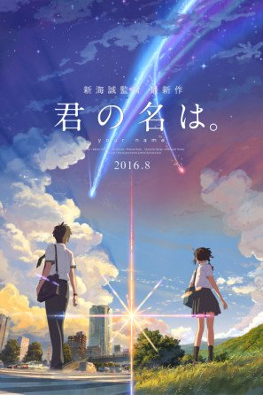 Kimi no na Wa – Your Name – Japanese Movie Wall Póster Print – 30 cm x 43 cm Brand New
