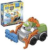 Mega Bloks La Patrulla Canina Camión de reciclaje de Rocky Vehículo de juguete de bloques de construcción, regalo para niños +1 año Mattel GYH93