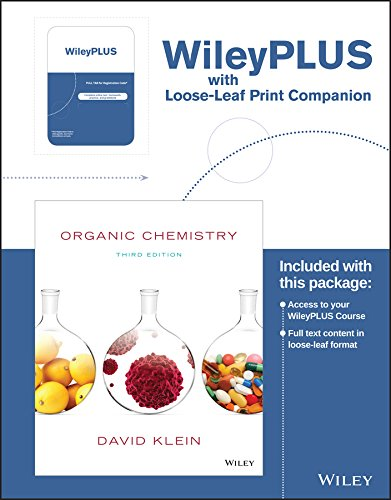 Compare Textbook Prices for Organic Chemistry 3 Edition ISBN 9781119340577 by Klein, David R.