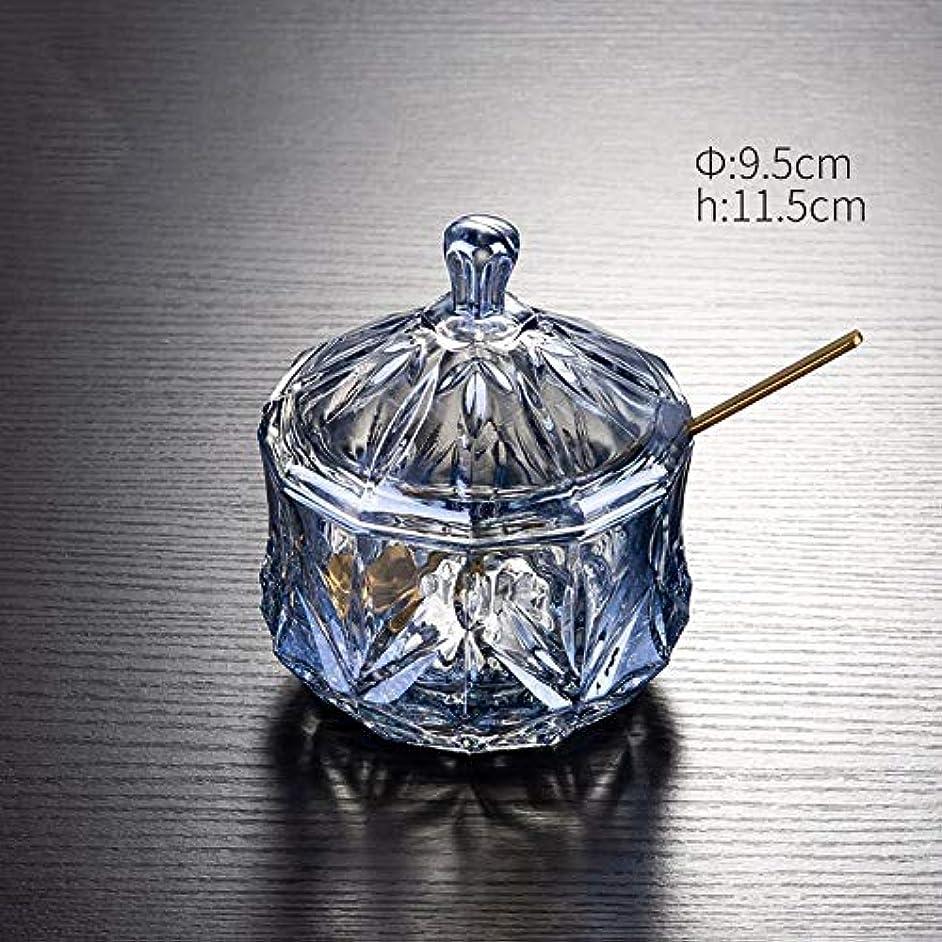 European Style Creative Home Glass Candy Jars Oil Salt Sugar Jars Gravy Boats Kitchen Spice Seasoning Box Creamer Pots Container