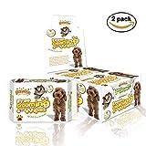 PAWISE Salviette per la toelettatura degli animali, 140 pezzi, deodoranti e ipoallergeniche, per cani e gatti (confezione da 2), interamente naturali