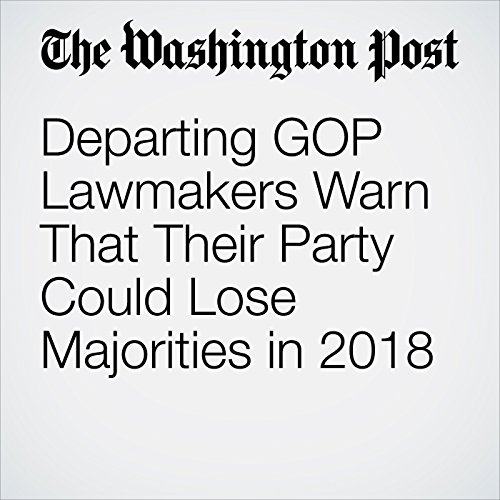Departing GOP Lawmakers Warn That Their Party Could Lose Majorities in 2018 copertina