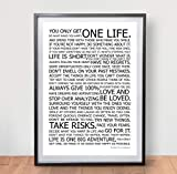 LIFE MANIFESTO POSTER - The World Famous Original